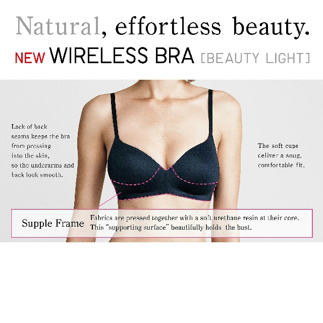 42146b0f5 UNIQLO Wireless Bras (originally 29.90!)