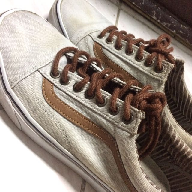 Vans Old Skool Grey Brown