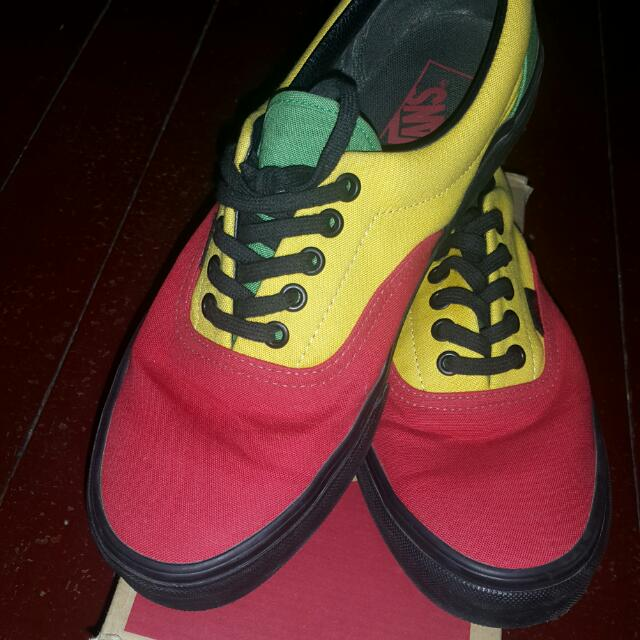 Vans Rasta (Red/Black)