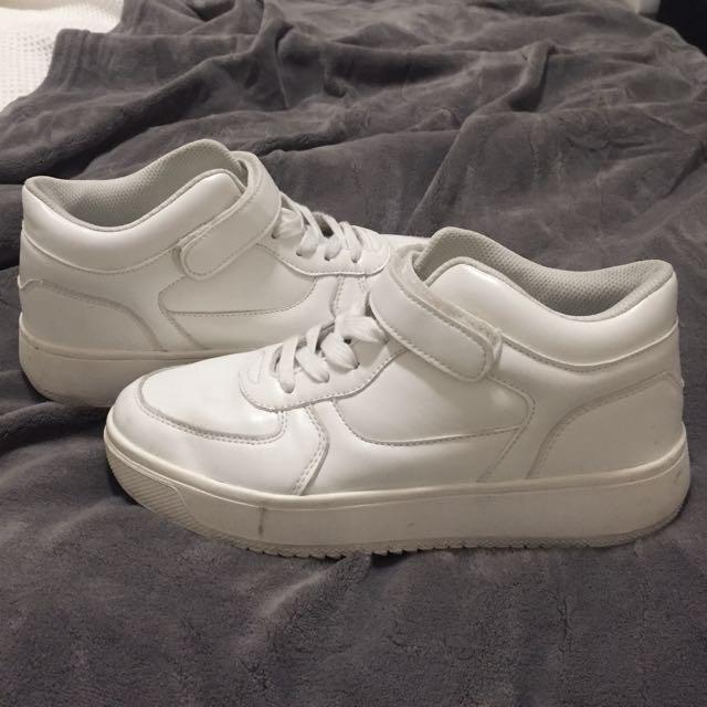 Vintage White Sneakers