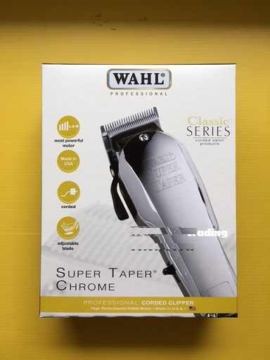 Wahl Super Taper Chrome - Mesin Cukur Pangkas Rambut - Original USA, Mobile Phones & Tablets on Carousell