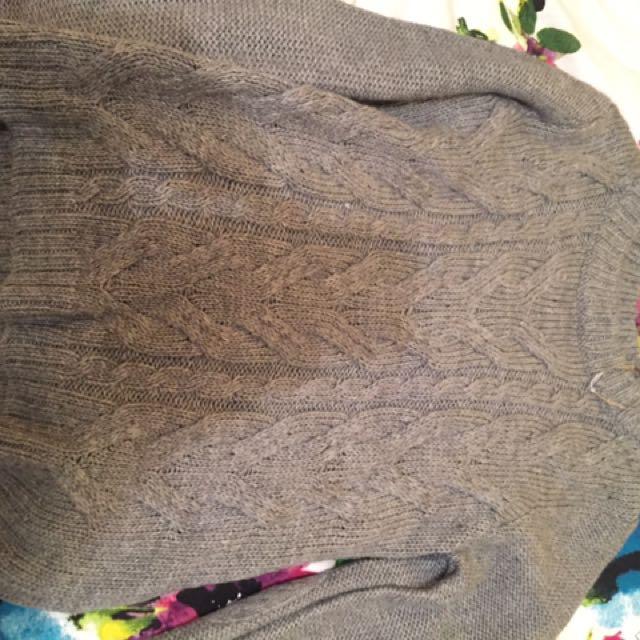 Woollen Grey Jay Jays Jumper Size M $5