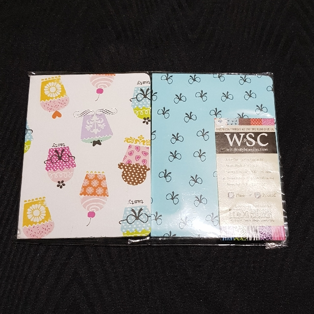 W&SC 40-Leaves Mini-Notebook Set 🆕️