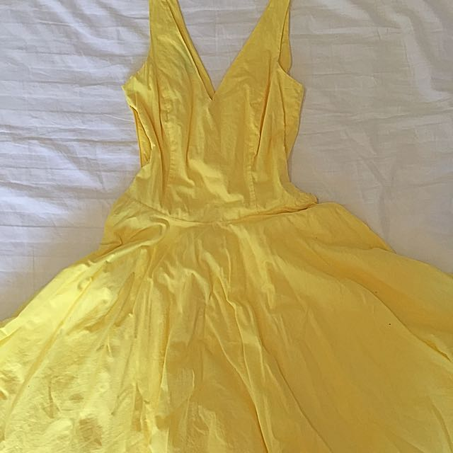 Yellow Warehouse Dress