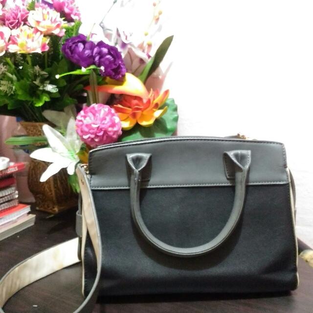 ZALORA Tricolor Bag