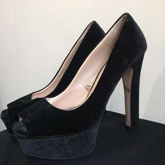 ZARA High Heels - Black