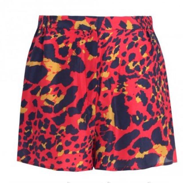 Zimmermann 100% Silk Shorts