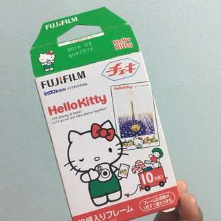 Expired Hello Kitty Instax Film