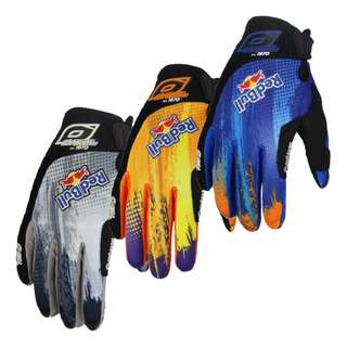 #45 Oneal Red Bull Gloves