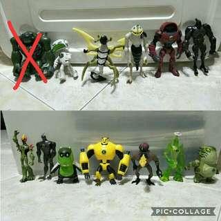 Assorted Ben 10 Figurings