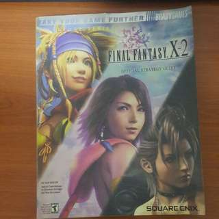 Final Fantasy X-2 Guide Book FFX2 Official Strategy Guidebook FF X2