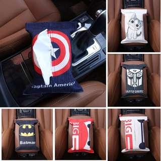 車用紙巾盒