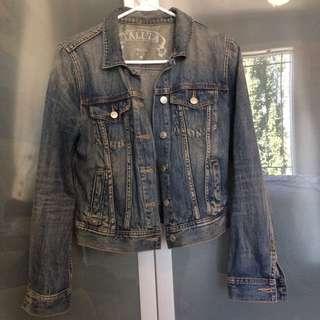 Aritzia Talula Small Jean Jacket