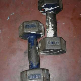 Two Small Barbell