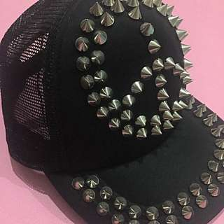 Peace Studded Hat