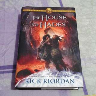 The House of Hades (Hard-bound)