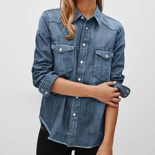 Aritzia TNA Denim Shirt