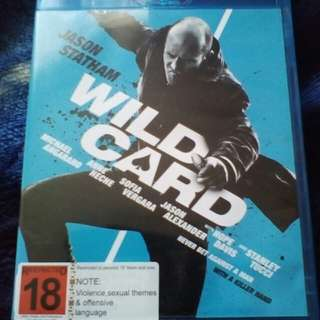 Bluray DVD Wild Card