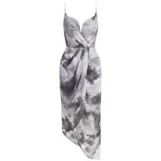 Zimmermann Cloud Plunge Tempo Dress RRP 550