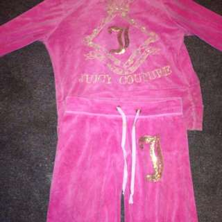 JUICY COUTURE PINK TRACKSUIT