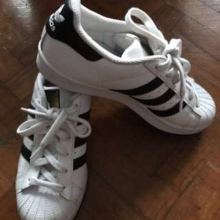 Adidas Superstar (Women) size 4.5 US (fits size 6)