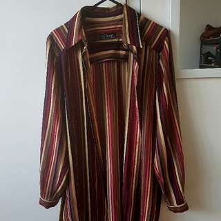 Pinstriped Retro Shirt