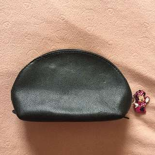 Oleg Cassini Pouch Bag With Free Minnie Mouse Keychain