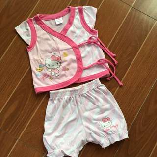 Hello Kitty Top & Shorts