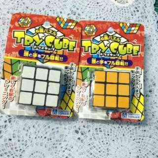Rubics Cube!Daiso Japan