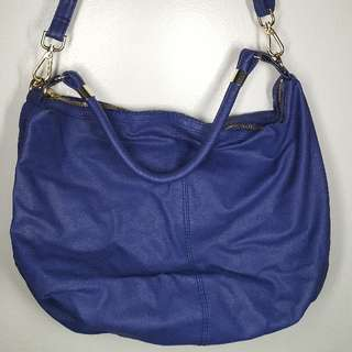 H&M Bluish Purple Hobo Bag