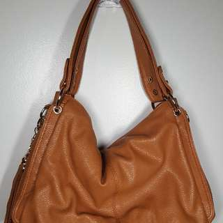 "Brown ""Leather"" Purse Crossbody Bag"