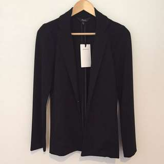 MAX Ponte Blazer In Black