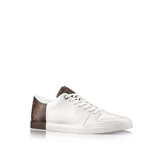 Louis Vuitton LV Men's White Line-up Trainer