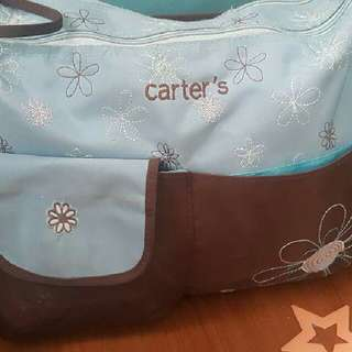 Carters LARGE baby Bag