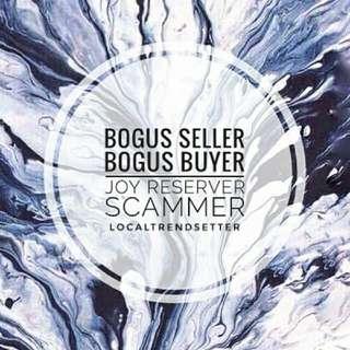 Bogus Buyer Joy Reserver