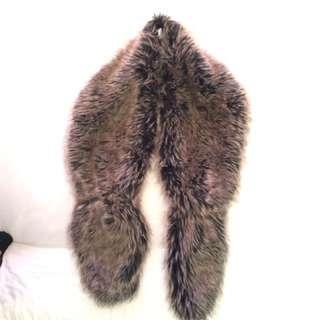 Sportsgirl Faux Fur Scarf