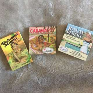 Authentic TheBalm Products