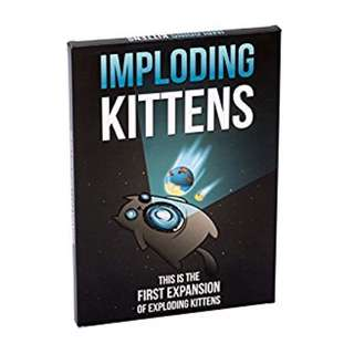 Imploding Kittens Card Game