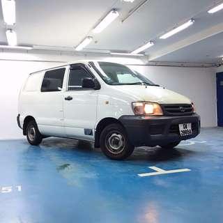 Toyota Liteace Van for Leasing