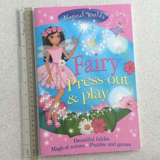 🆕 Fairy Press-out & Play
