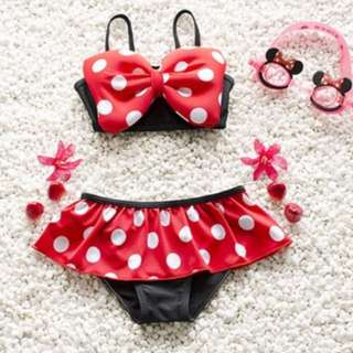 Bikini Anak Minnie Lucu
