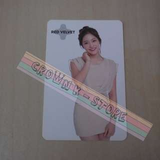 [READY STOCK]RED VELVET YERI KOREA SUM SM OFFICIAL PHOTO CARD (PRICE NOT INCLUDE POSTAGE)(PLEASE READ DETAILS FOR MORE INFO)