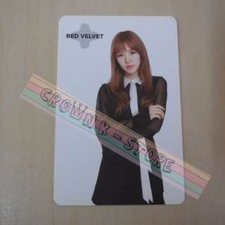 [READY STOCK]RED VELVET WENDY KOREA SUM SM OFFICIAL PHOTO CARD (PRICE NOT INCLUDE POSTAGE)(PLEASE READ DETAILS FOR MORE INFO)