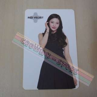 [READY STOCK]RED VELVET JOY KOREA SUM SM OFFICIAL PHOTO CARD (PRICE NOT INCLUDE POSTAGE)(PLEASE READ DETAILS FOR MORE INFO)