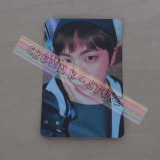 [READY STOCK]BTS JIN KOREA ALBUM OFFICIAL PHOTO CARD 1PC (PRICE NOT INCLUDE POSTAGE)(PLEASE READ DETAILS FOR MORE INFO)