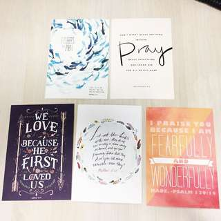 Cards With Bible Verses