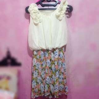 Rose Dress Vintage