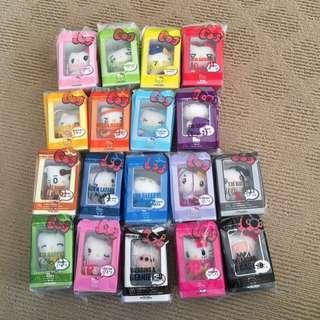 Hello Kitty small plush toys complete set