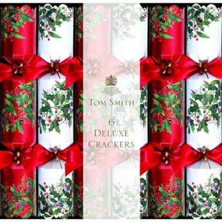 Tom Smith 6 Deluxe Christmas Crackers