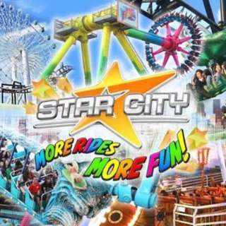 Star City Ticket.